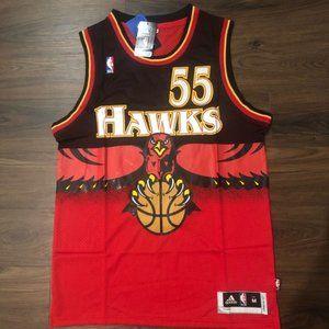 NEW Atlanta Hawks Dikembe Mutumbo NBA #55 jersey